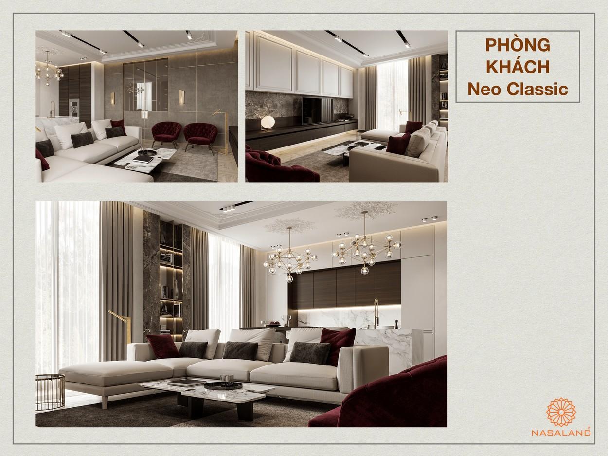 Thiết kế tại dự án căn hộ Paris Hoàng Kim Quận 2