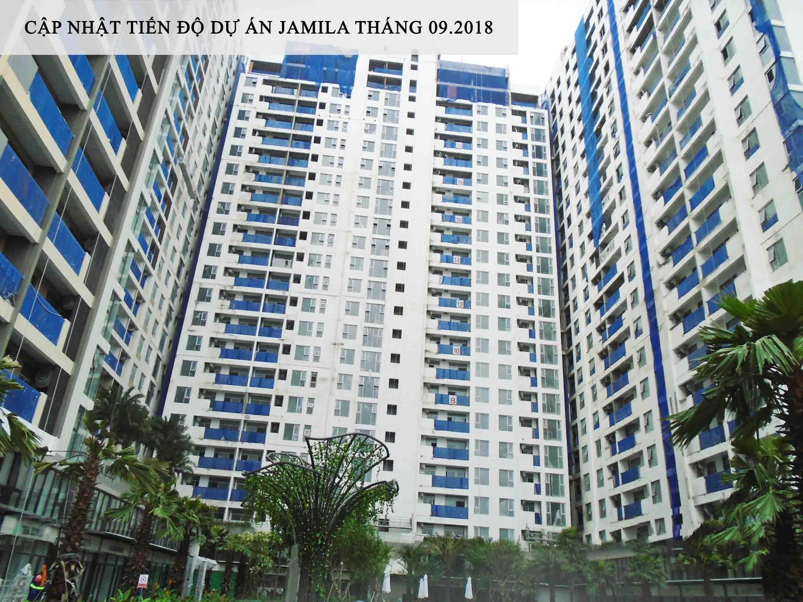 Tiến độ dự án Jamila Khang Điền Quận 9
