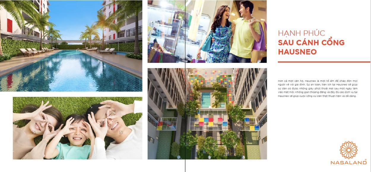 Tiện ích dự án căn hộ Hausneo Quận 9