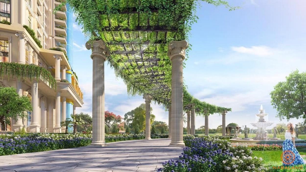 Tiện ích dự án căn hộ Rome Diamond Lotus Quận 2 đường Mai Chí Thọ