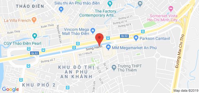 Vị trí địa chỉ dự án căn hộ Chung Cư An Phúc Quận 2 đường Vũ Tông Phan chủ đầu tư Vietcomreal