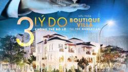 3 lý do không thể bỏ lỡ boutique villa The Manhattan