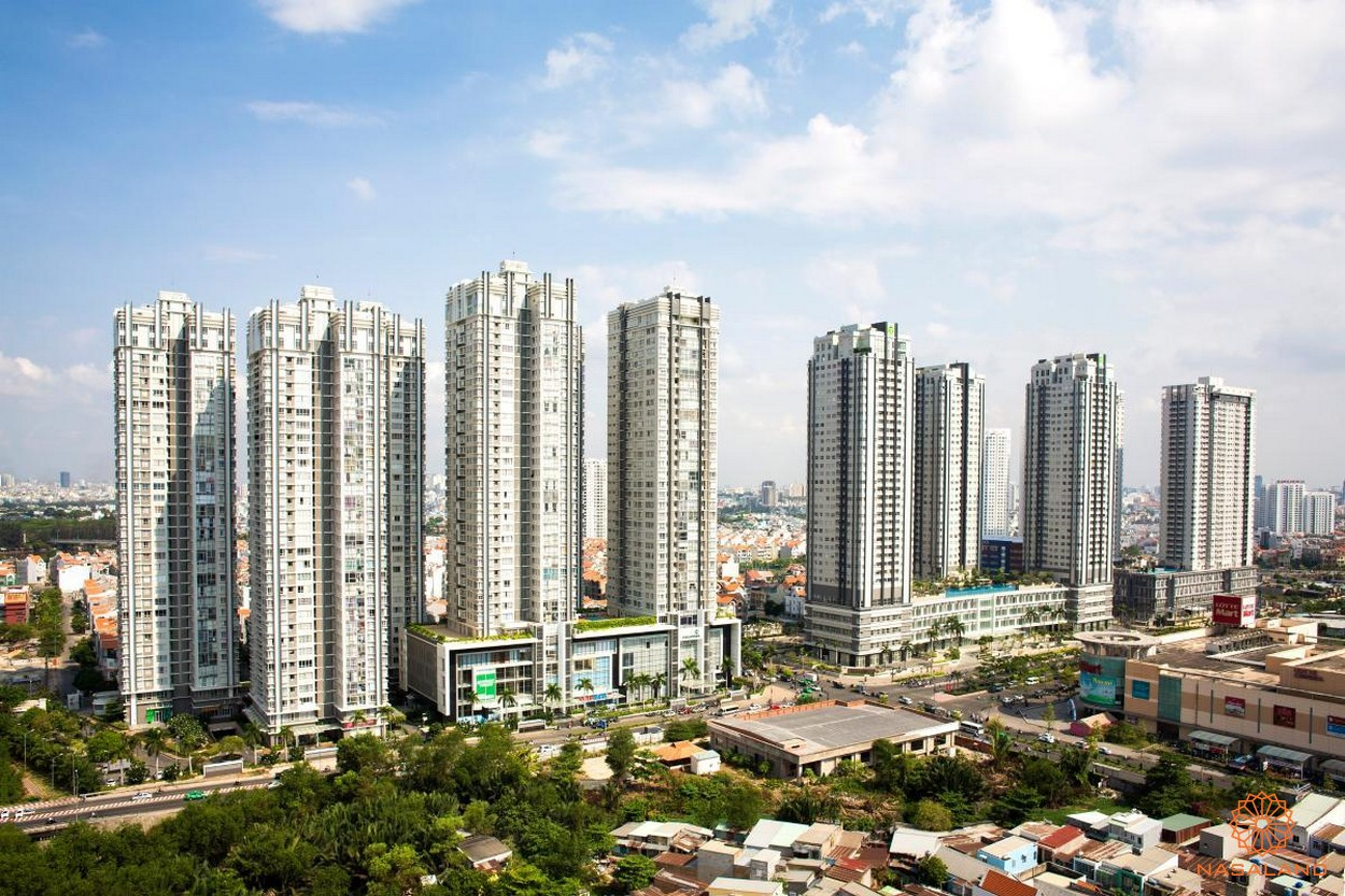 Hình ảnh dự án Sunrise City của tập đoàn Novaland