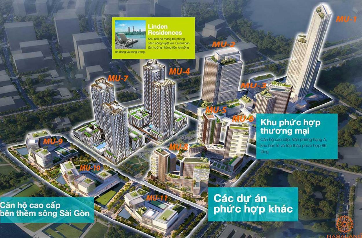Phối cảnh tổng thể dự án Empire City