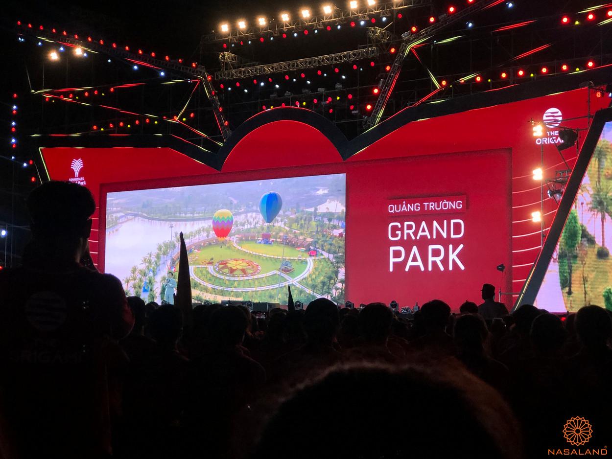 Lễ ra quân The Origami Vinhomes Grand Park