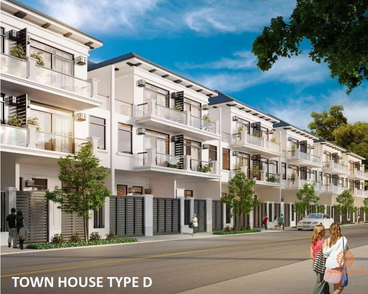 Hình ảnh nhà mẫu nhà phố liền kế KĐT Lakeview Novaland quận 2
