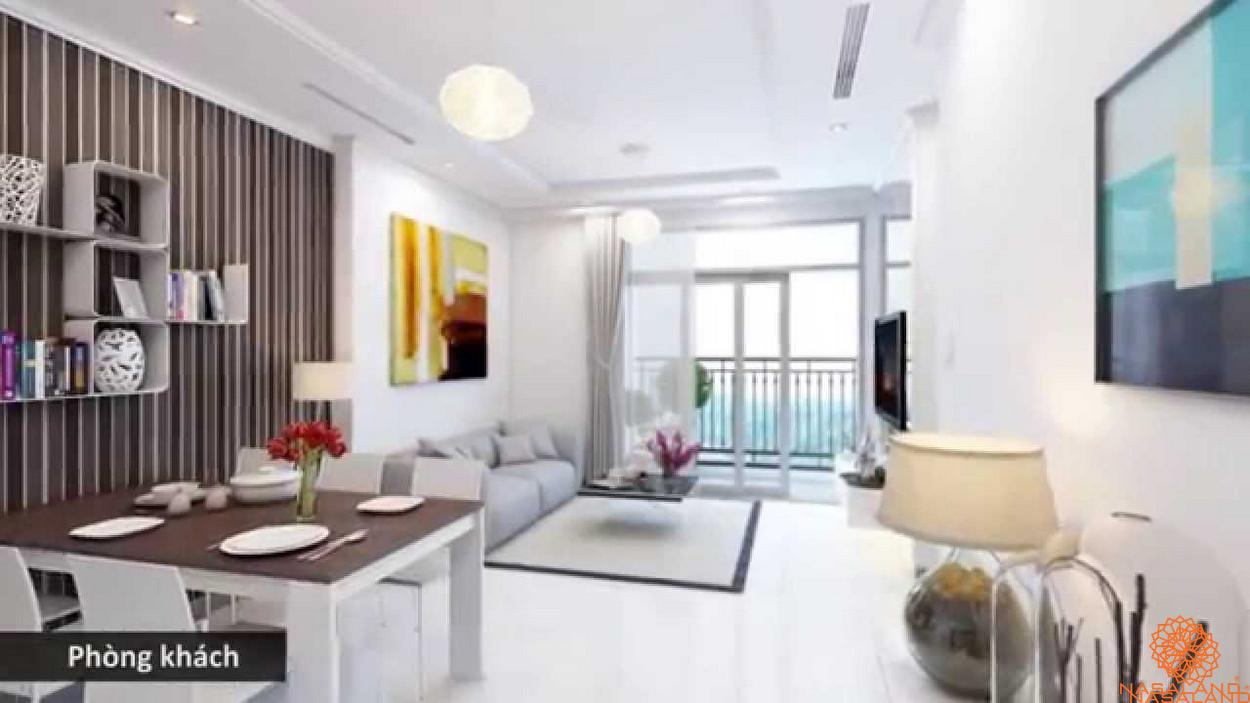 Nội thất điển hình căn hộ Vinhomes Central Park