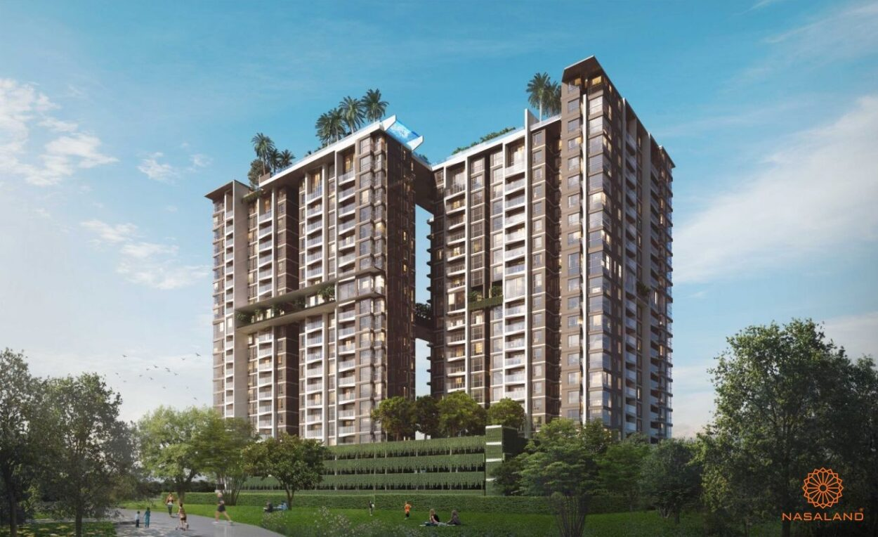 Hình ảnh phối cảnh dự án căn hộ D'Edge Quận 2