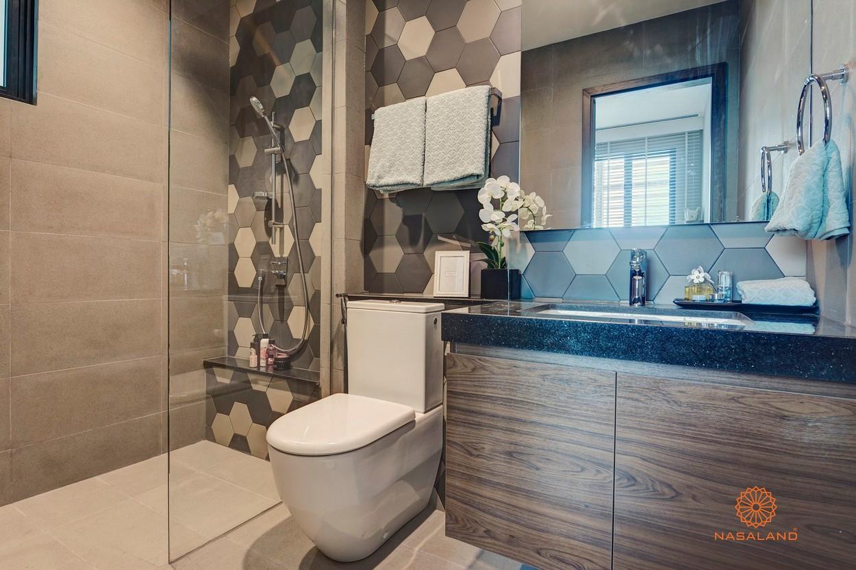 Thiết kế phòng tắm tại dự án căn hộ D'Edge Quận 2