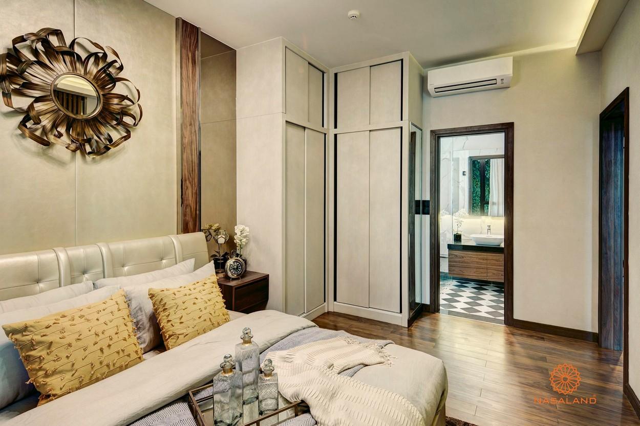 Thiết kế phòng ngủ tại dự án căn hộ D'Edge Quận 2