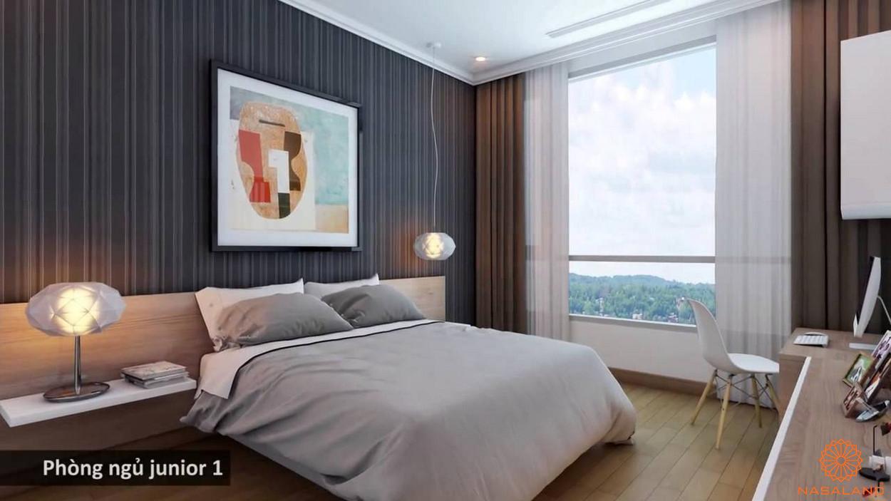 Thiết kế dự án phòng ngủ Vinhomes Central Park