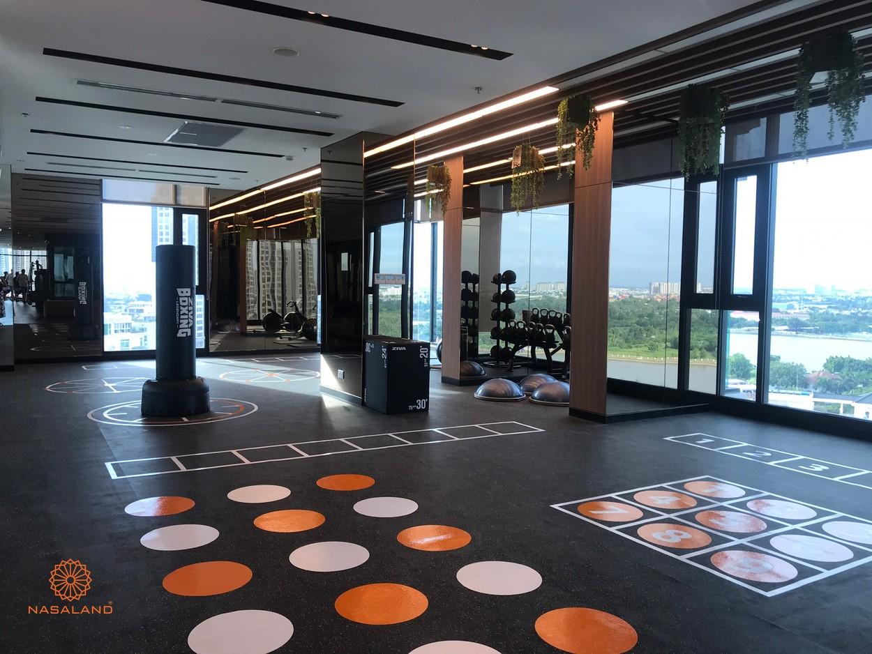 Phòng tập thể dục tại căn hộ D'Edge Thảo Điền, Quận 2