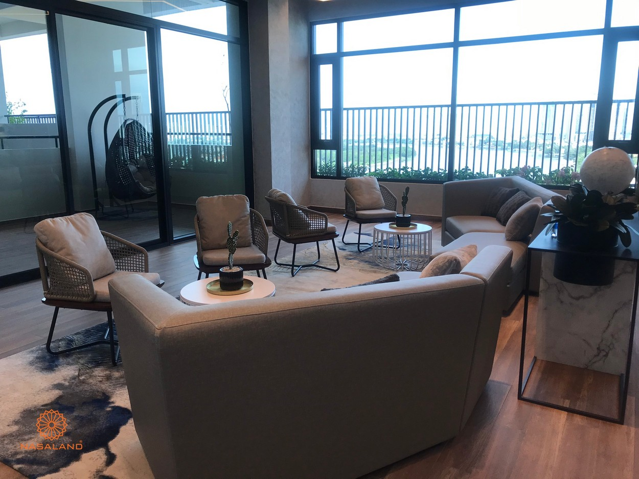 Phòng nghỉ của dự án căn hộ D'Edge Thảo Điền, Quận 2