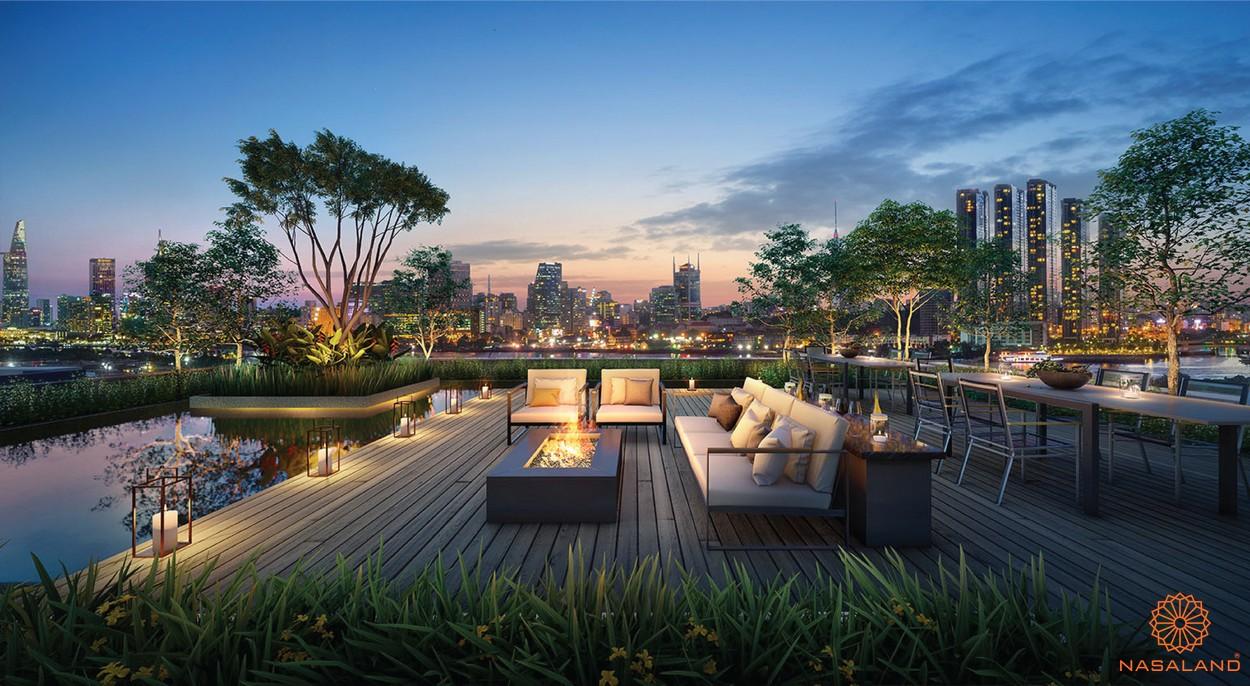 Tiện ích dự án căn hộ The River Thủ Thiêm Quận 2 đường Nguyễn Cơ Thạch chủ đầu tư CII