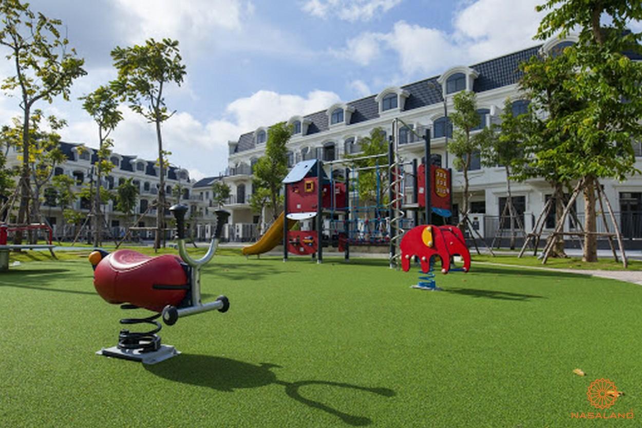 Tiện ích KĐT Lakeview Novaland quận 2 - khu vui chơi trẻ em