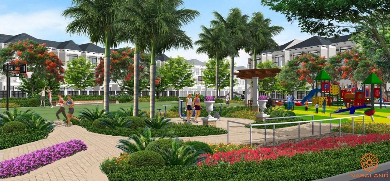 Khu công viên trong dự án Lakeview City