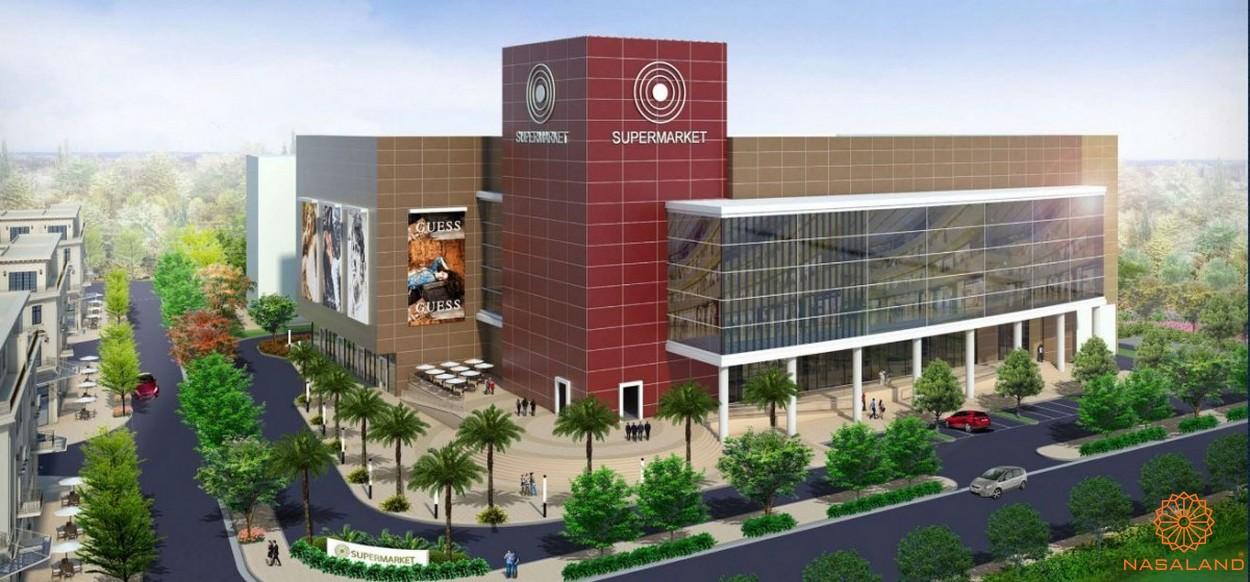 Trung tâm thương mại trong dự án Lakeview City quận 2