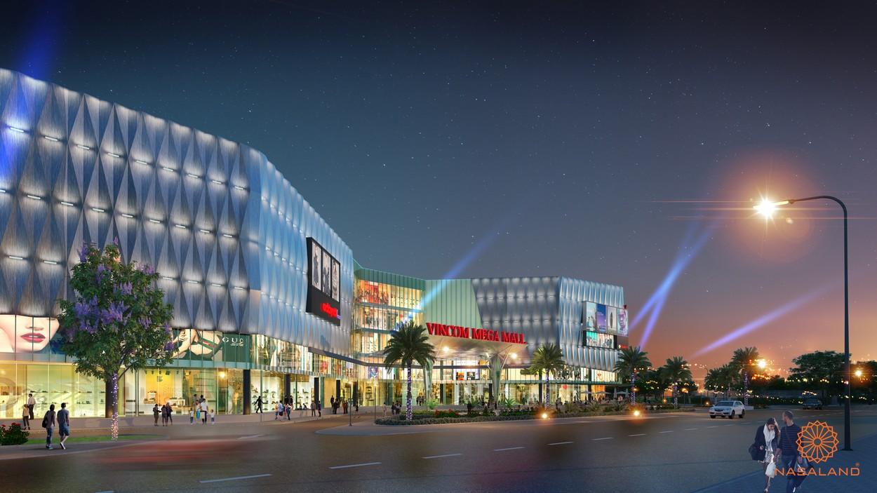 Vincom Mega Mall tại The Times Vinhomes Grand Park quận 9 đường Nguyễn Xiển chủ đầu tư Vingroup