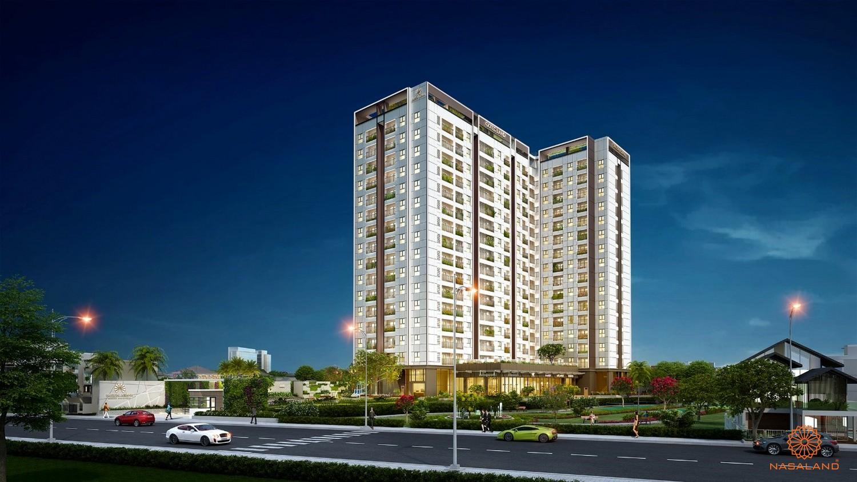 Ảnh phối cảnh dự án căn hộ Asiana Phú Lâm quận 6