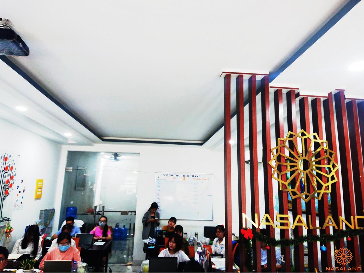 Nasaland tổ chức buổi đào tạo kiến thức bất động sản cho các bạn thực tập sinh