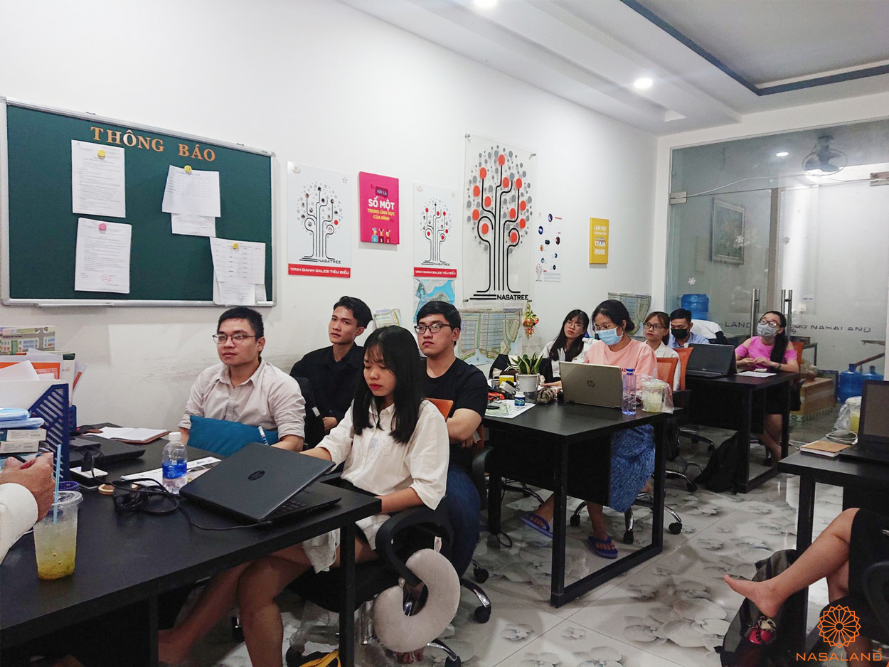 Nasaland tổ chức buổi đào tạo để các bạn có cơ hội học hỏi thêm nhiều kiến thức