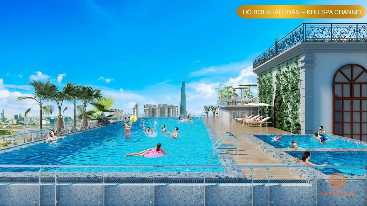 Tiện ích Paris Hoàng Kim - Hồ bơi vô cực Khải Hoàn