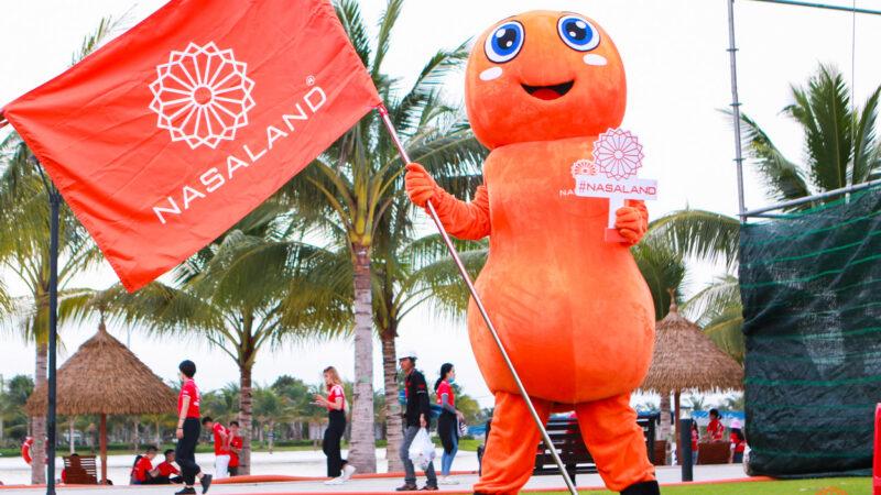 Tổng kết lễ ra quân Origami Vinhomes Grand Park - chú kiến linh vật của Nasaland