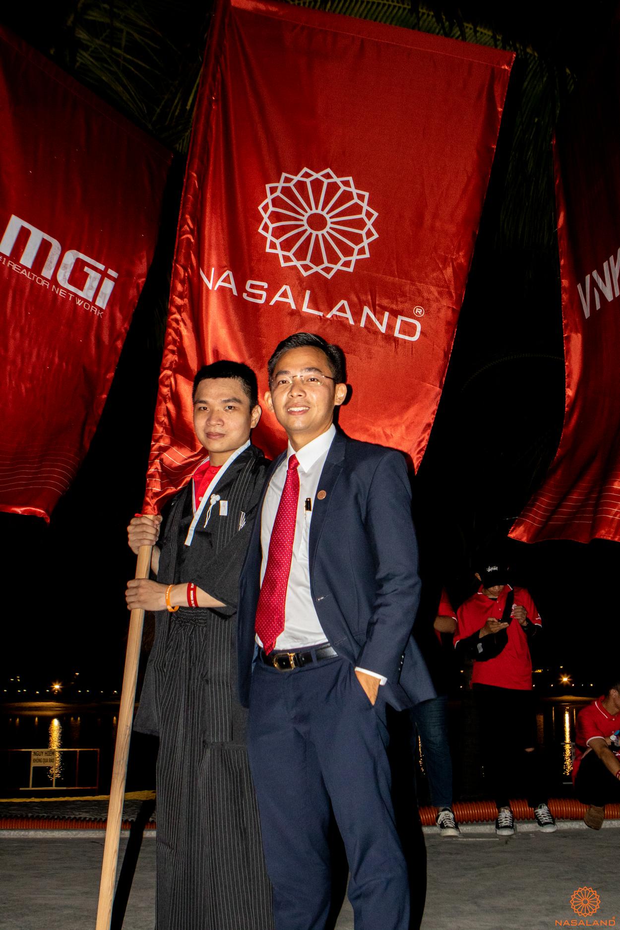 Tổng kết lễ ra quân The Origami Vinhomes Grand Park - cờ của Nasaland tại sự kiện