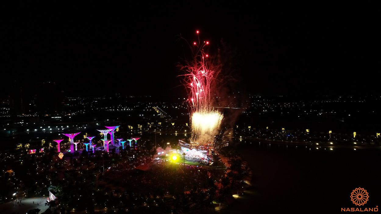 Tổng kết lễ ra quân The Origami Vinhomes Grand Park - màn pháo hoa rực rở đẩy sức nóng của không khí lên đến đỉnh cao