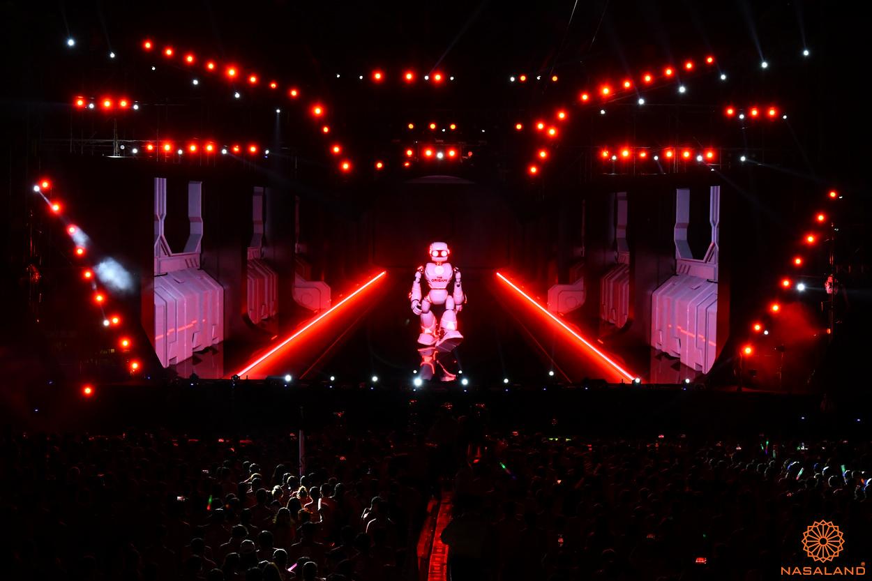 Tổng kết lễ ra quân The Origami Vinhomes Grand Park - sự xuất hiện của robot Riga
