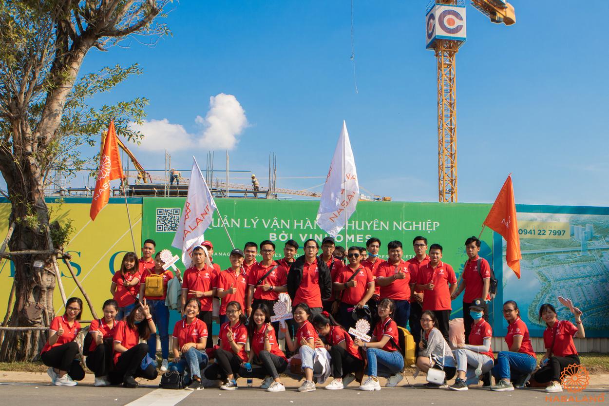 Tổng kết lễ ra quân The Origami Vinhomes Grand Park - đội ngũ Nasaland tươi trẻ năng động
