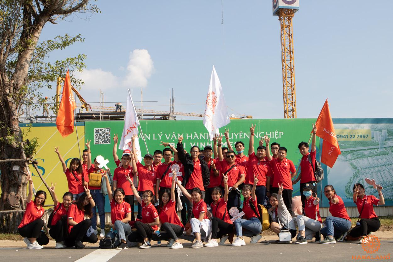 Tổng kết lễ ra quân The Origami Vinhomes Grand Park - đội ngũ Nasaland nhiệt huyết