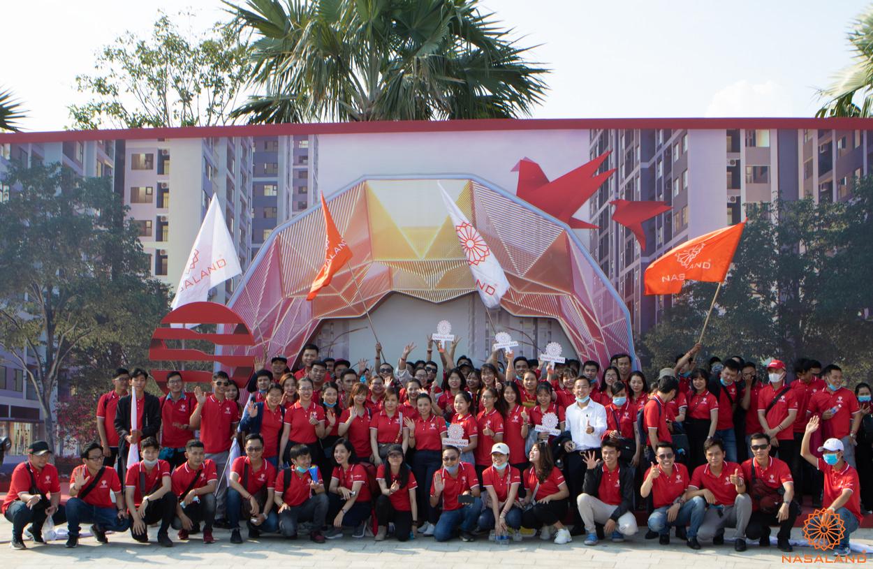 Tổng kết lễ ra quân Origami - Toàn thể team Nasaland háo hức chào đón lễ ra quân