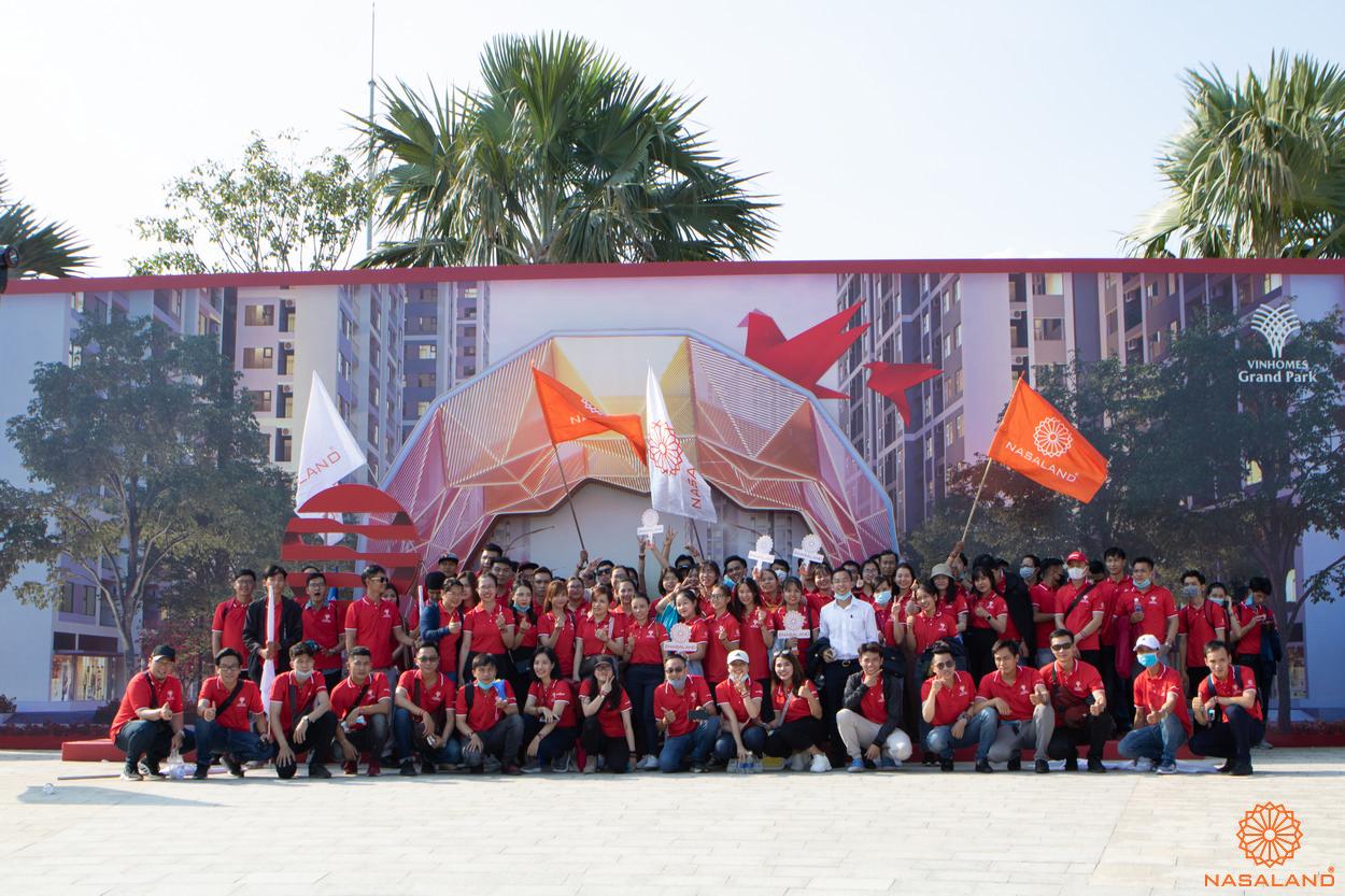 Tổng kết lễ ra quân Origami Vinhomes Grand Park - Checkin ngay tại trước buổi lễ