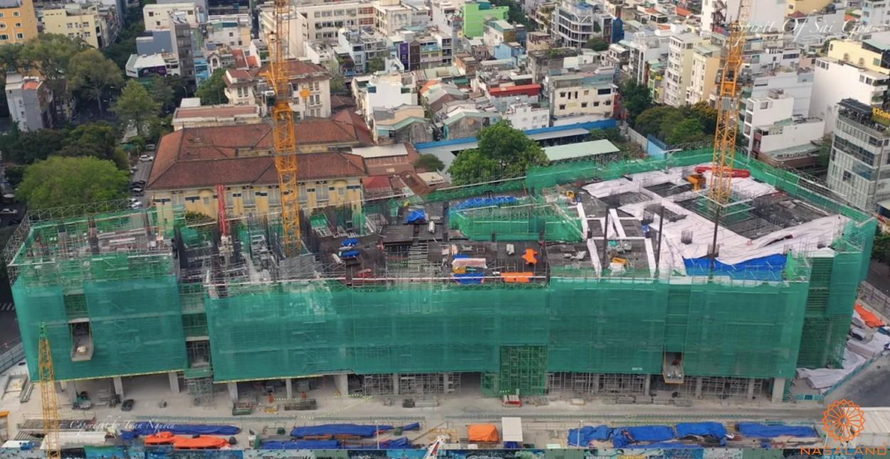 Mặt bằng dự án căn hộ The Spirit Of Saigon quận 1