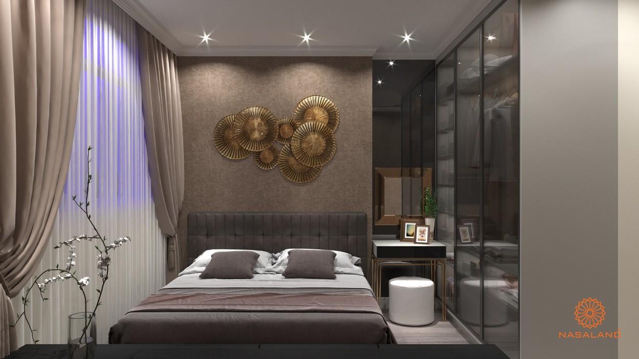 Thiết kế nhà mẫu 2PN tại dự án căn hộ Paris Hoàng Kim Quận 2