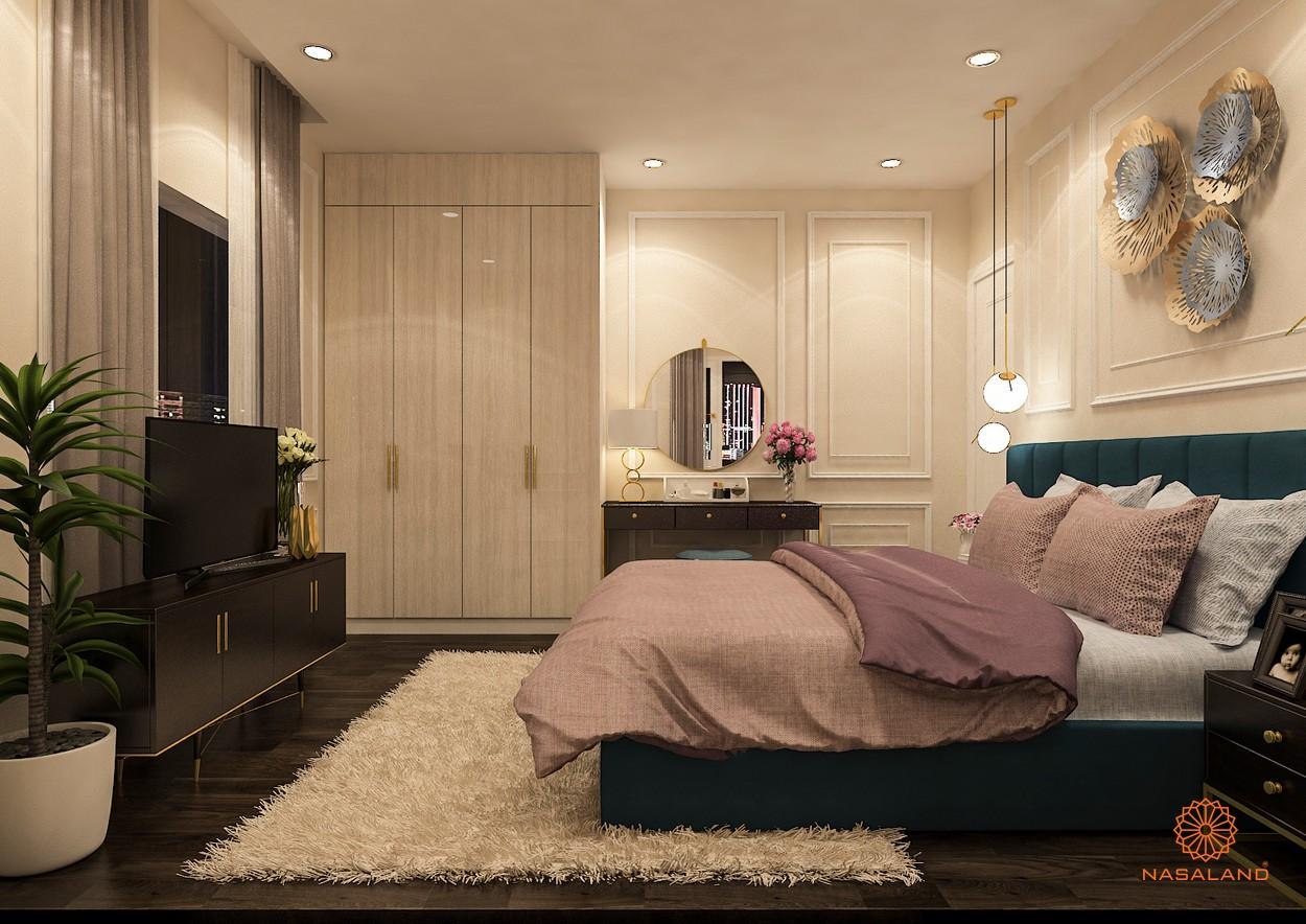 Thiết kế nhà mẫu 3N tại dự án căn hộ Paris Hoàng Kim