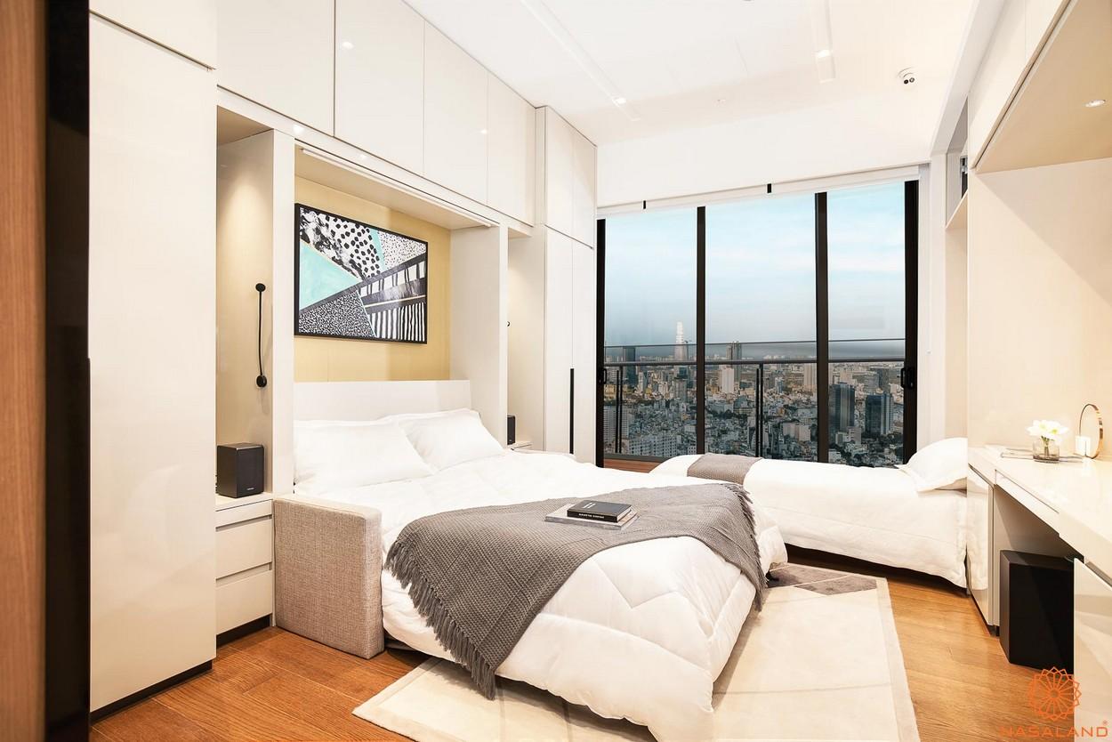 Nhà mẫu phòng ngủ thuộc dự án