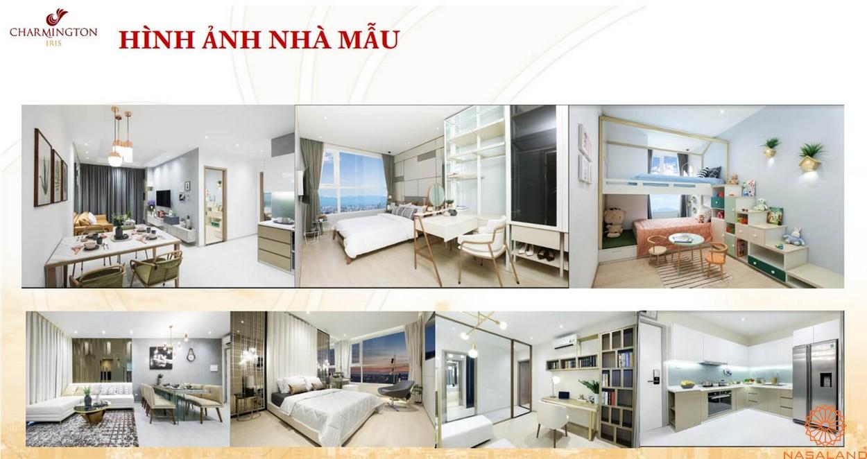 Hình ảnh nhà mẫu căn hộ bên trong dự án