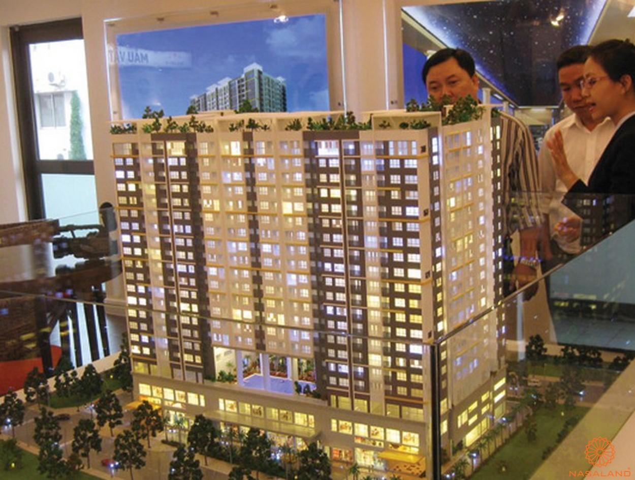 Nhà mẫu dự án căn hộ Galaxy 9 quận 4 chủ đầu tư Novaland