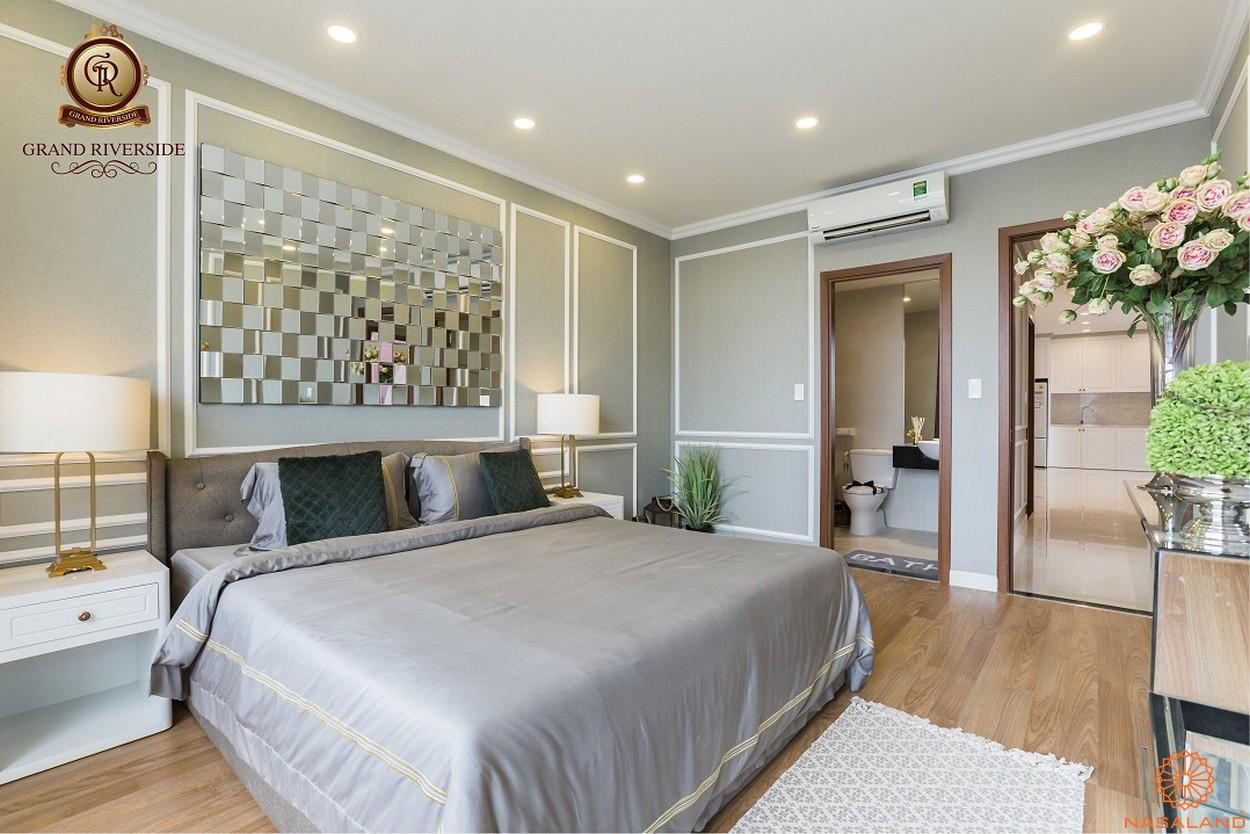 Nhà mẫu phòng ngủ căn hộ Grand Riverside quận 4