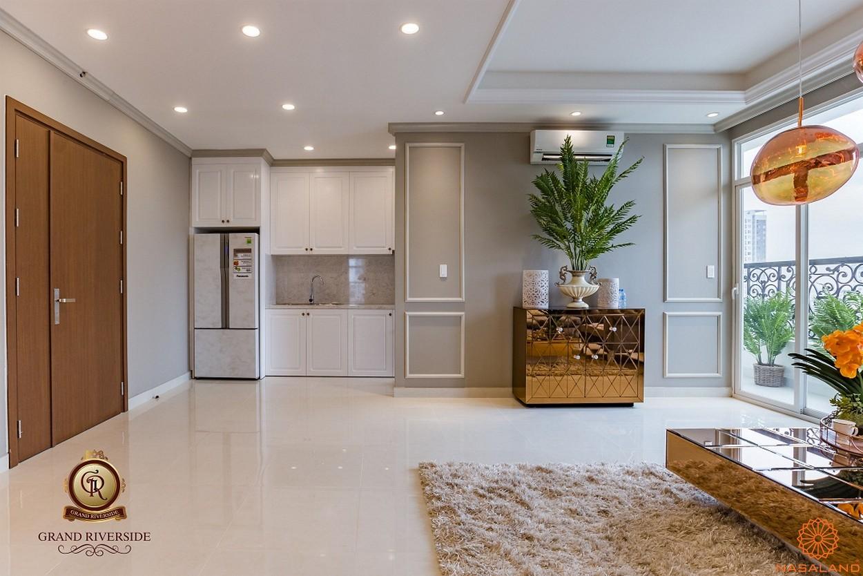 Nhà mẫu phòng bếp của căn hộ