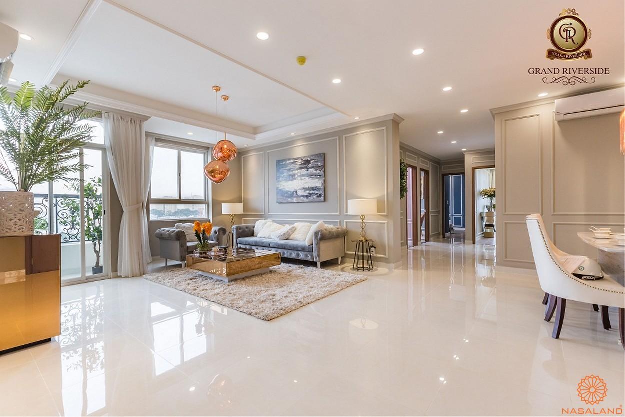 Nhà mẫu phòng khách của căn hộ