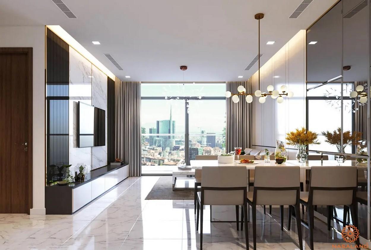 Nhà mẫu dự án căn hộ Masterise Homes Ba Son