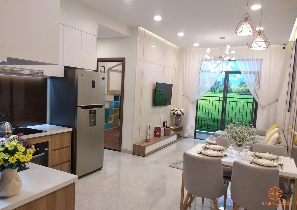 Nhà mẫu điển hình của một căn hộ tại dự án Asiana Phú Lâm
