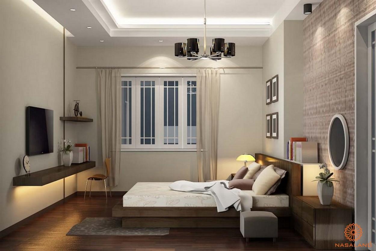 Nhà mẫu dự án căn hộ Grand Central quận 3 - phòng ngủ