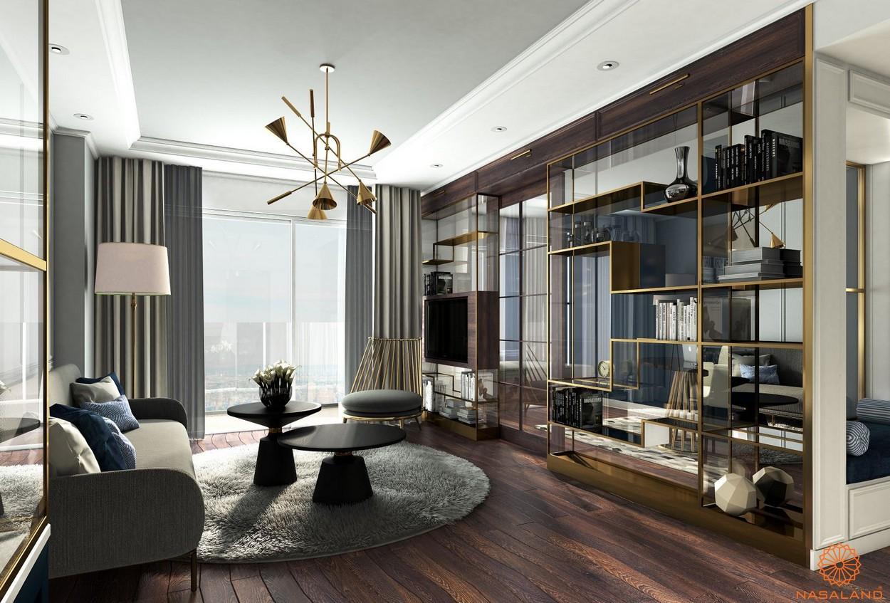 Nhà mẫu dự án căn hộ Saigon Royal quận 4 chủ đầu tư Novaland