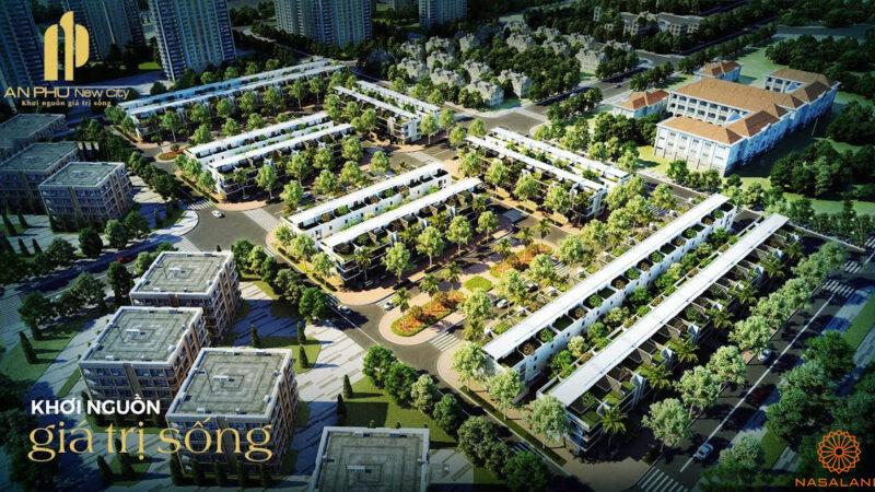 Nhà phố An Phú New City - Phối cảnh chung của dự án