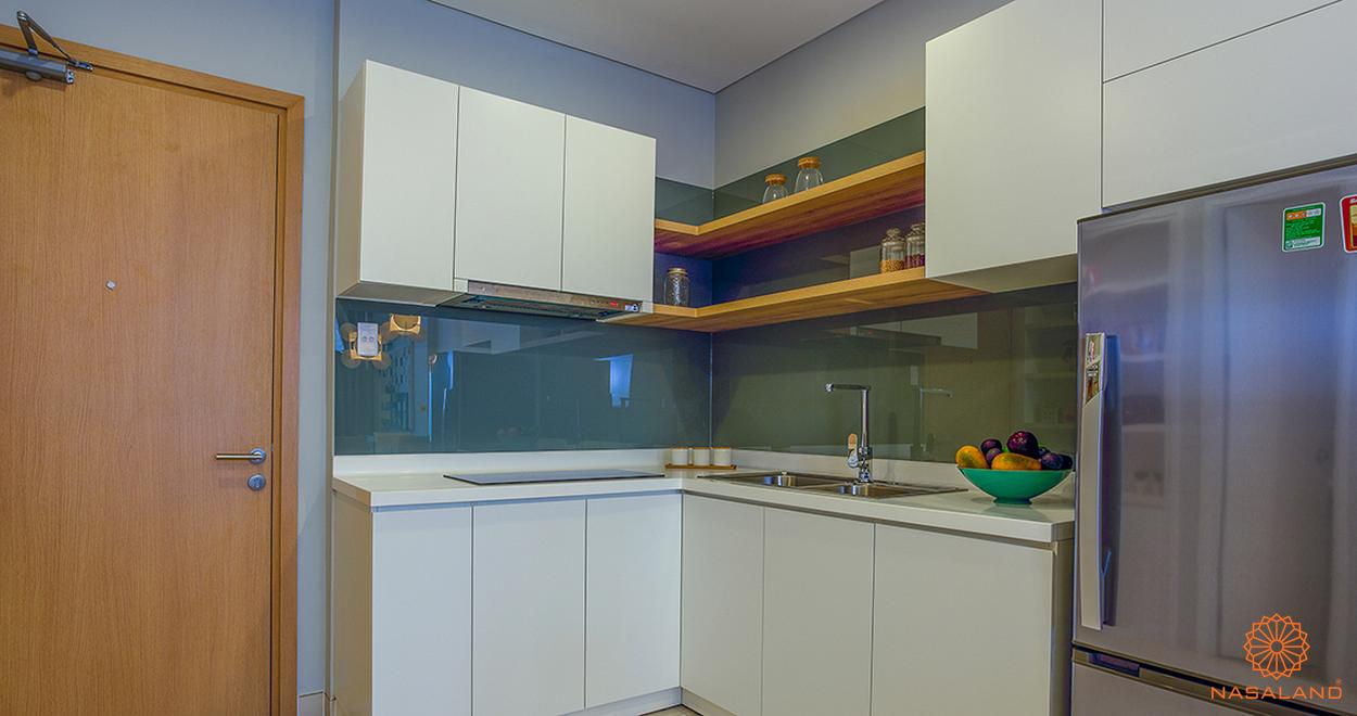 Nội thất căn bếp của dự án M-One Nam Sài Gòn
