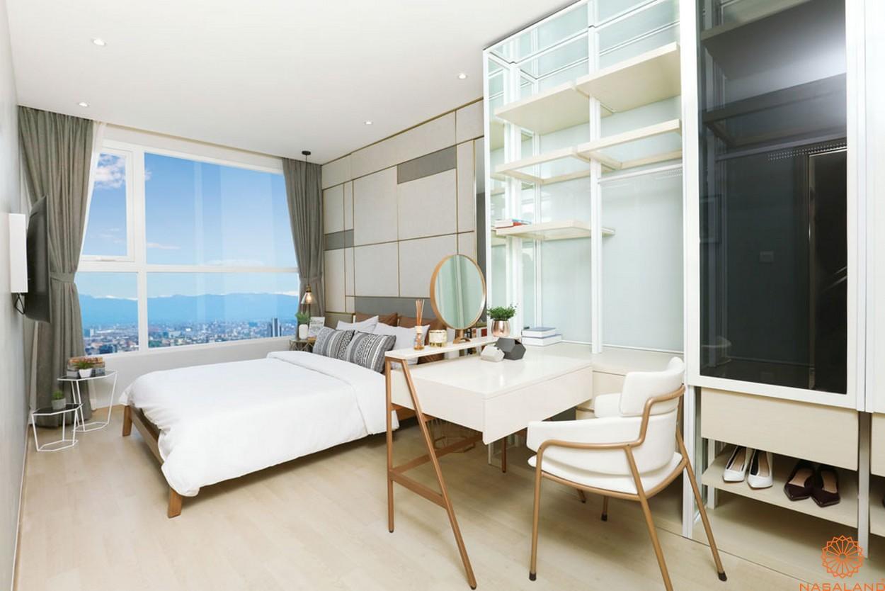 Nội thất phòng ngủ dành cho 2 người tại dự án của chủ đầu tư TTC Land
